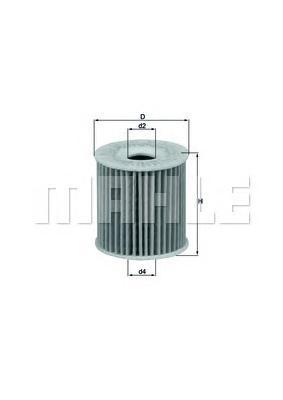 OX346D Фильтр масляный SMART 0.6-0.8