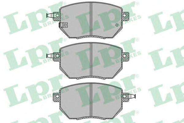 05P1342 Колодки тормозные INFINITI FX35/45 03-/NISSAN MURANO 05- передние