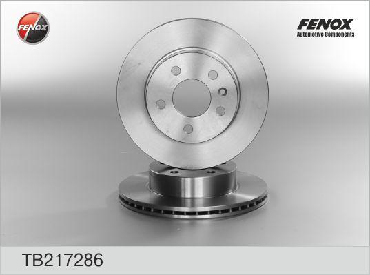 TB217286 Диск тормозной MERCEDES VITO W638 108-114 2.0-2.3 передний D=276мм.