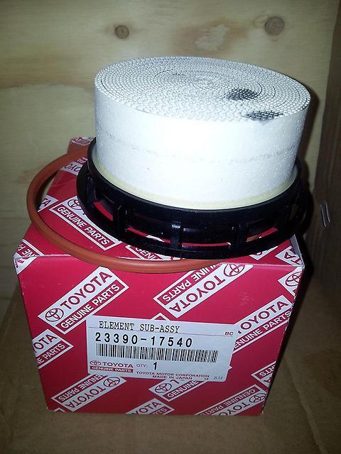2339017540 Фильтр топливный  LC200 4.5 DIESEL 2339017540