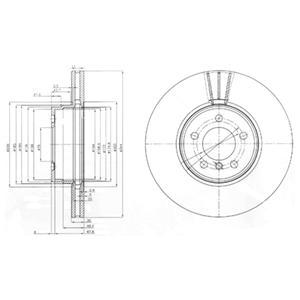 bg9008 Тормозной диск