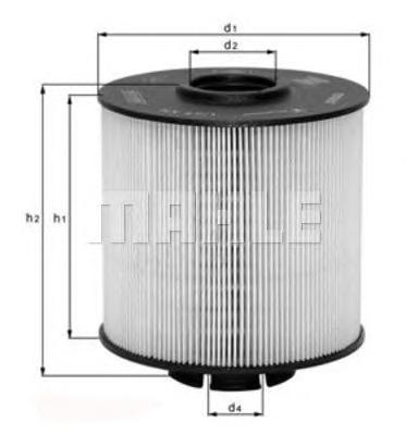 KX672D Фильтр топливный MB ATEGO/VARIO