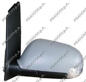 VW7157314 Зеркало в сборе с электрорегулировкой левое, грунтованное / VW Touaran 03~10