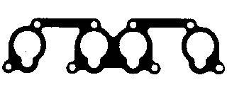 165210 Прокладка впуск.коллектора AUDI/VW/SKODA 1.6/2.0 94- нижняя