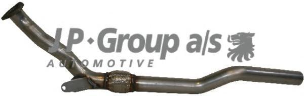 1120209200 Приемная труба / AUDI A4, A6; SKODA Superb; VW Passat-V 1.8 T 97~