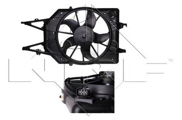 47034 Вентилятор в сб. FO Focus I