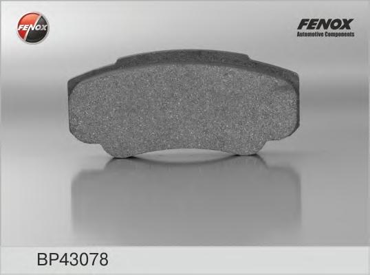 BP43078 Колодки тормозные CITROEN JUMPER/FIAT DUCATO/PEUGEOT BOXER (230/244) 94- задние