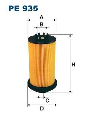 PE935 Фильтр топливный MB ACTROS
