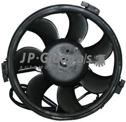 1199106900 Вентилятор радиатора (80Watt- 280mm) / AUDI A4, A6, A8; VW Passat V 1.6-2.8 95~
