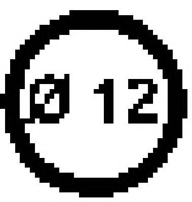 00246100 Прокладка сливной пробки поддона двигателя TOYOTA