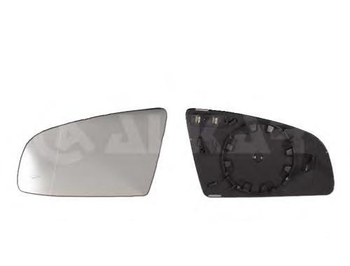 6423503 Стекло зеркала левое, асферическое с подогревом / AUDI A3, A4, A6 01~08