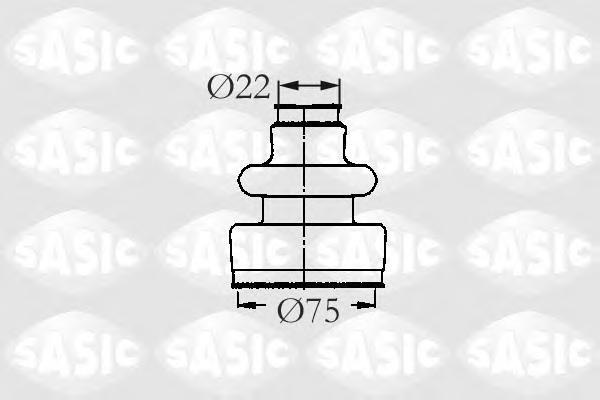 2933593 Пыльник ШРУСа CITROEN BX/XM/ZX/PEUGEOT 205-605 83-02 внутр.
