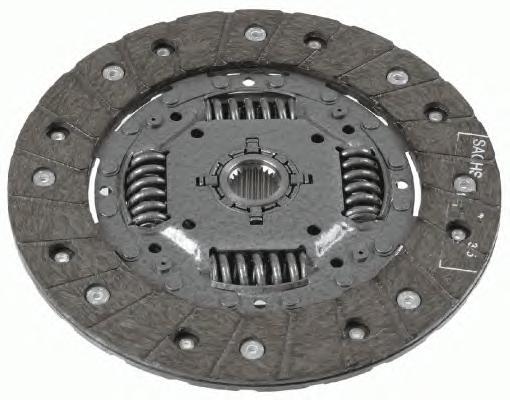 1862490031 Диск сцепл.VW GOLF II-IV/POLO/CADDY 1.6-1.9D 83-04