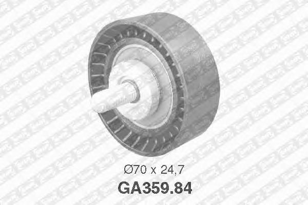 GA35984 Деталь GA359.84_pолик обводной pемня ген