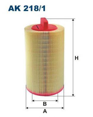 AK2181 Фильтр воздушный MB W203/W204/W211/C209 1.6/1.8 Kompressor