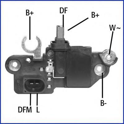 130609 Реле регулятор генератора 14V  BO