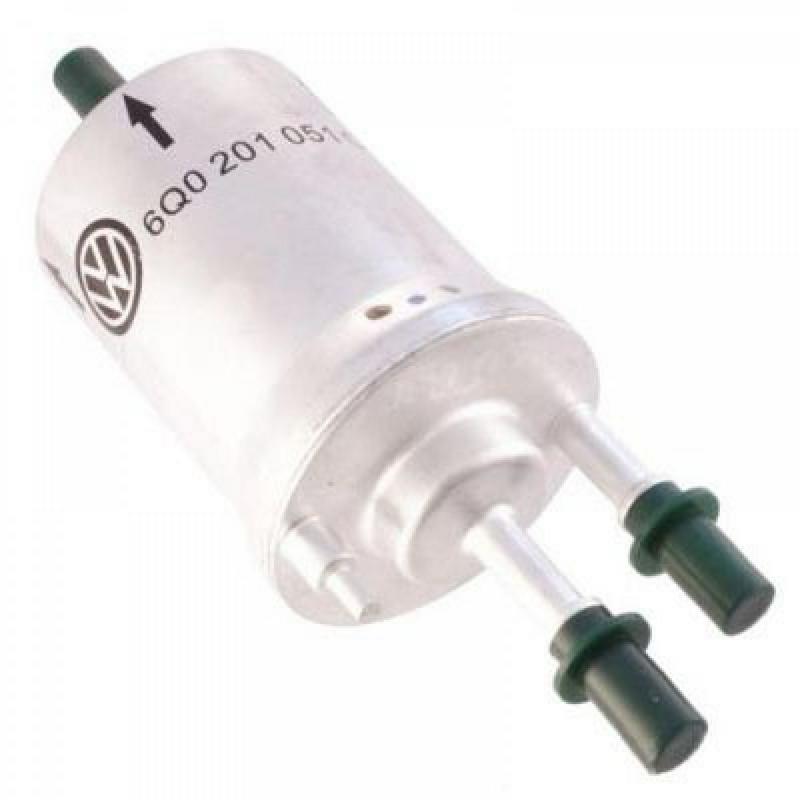 6Q0201051H Фильтр топл. Фабия 1 2/1 4 c регулятором