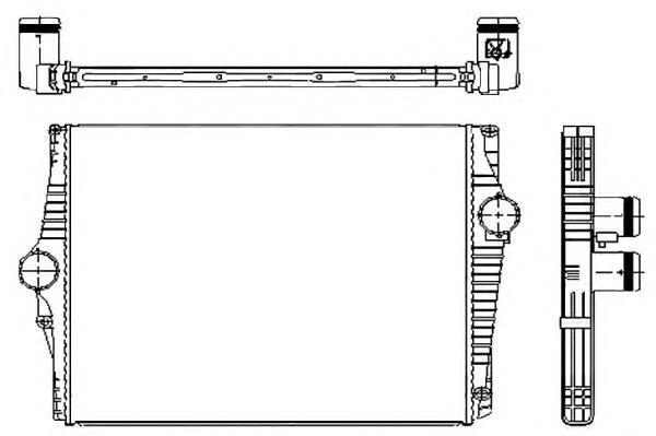 30250 Интеркулер VO XC90 D5 02-