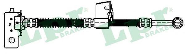 6T48153 Шланг тормозной HYUNDAI GETZ 02- передний правый L=480мм.