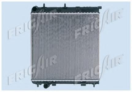 01033052 Радиатор, охлаждение двигателя