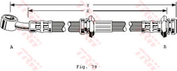 phd293 Тормозной шланг