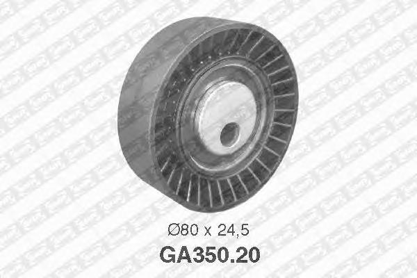 GA35020 Ролик ремня приводного BMW E36/E34/E39/E38/X5 M43/50/52/54/S50/54/65/85