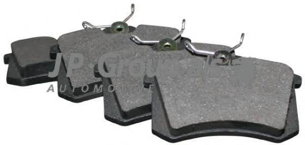 1163705310 Колодки тормозные дисковые задние / SEAT,VW 1.8-2.8 83~