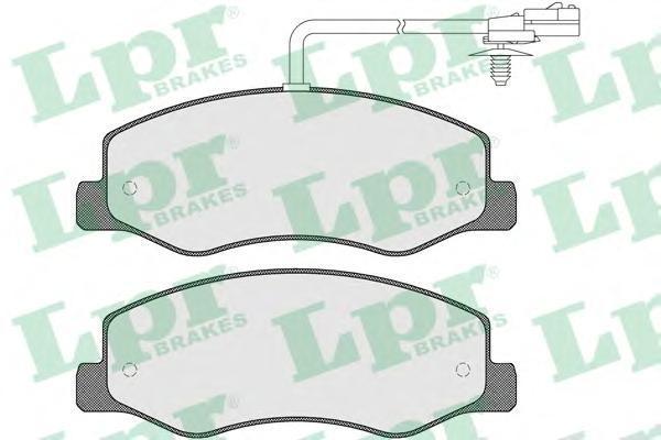05P1570 Колодки тормозные OPEL MOVANO/RENAULT MASTER 10- задние (сдвоен.шины)