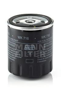 WK716 Фильтр топливный MB W123/W460 2.0D-3.0D 76-85