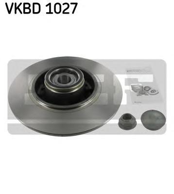 VKBD1027 Деталь VKBD1027_диск тоpмозной задний! с
