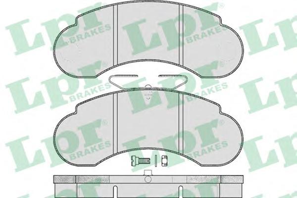 05P415 Колодки тормозные MERCEDES W460/W461/W463 передние