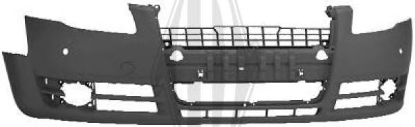 1017151 Бампер передний грунтованный (для а/м с PDC) / AUDI A4 05~08