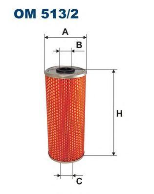 OM5132 Фильтр масляный MB/MAN