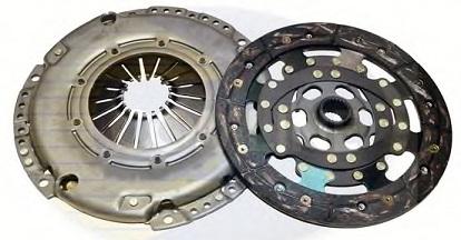 1385369 Комплект сцепления, без выжимного подшипника / FORD Focus-II,C-Max;VOLVO C30,S40,V50 1.8/2.0 Duratec 2003~