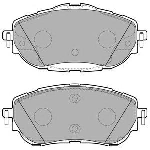 LP2691 Тоpмозные колодки комплект