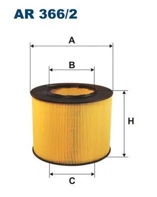 AR3662 Фильтр воздушный SAAB 9-5 2.0T-3.0T