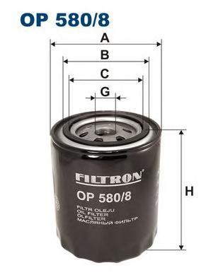OP5808 Фильтр масляный LAND ROVER RR 4.0-4.6