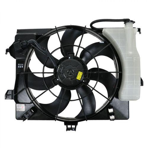 253801R050 Диффузор радиатора Solaris