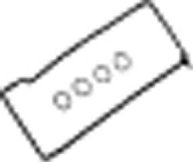 153164801 Прокладка клапанной крышки MB W124 2.2TD 16V M604 93