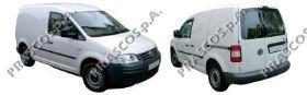 VW9047316 Зеркало в сборе с электрорегулировкой левое грунтованное / VW Caddy 04~