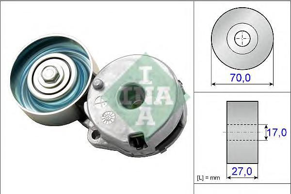 534044210 Натяжитель ремня приводного NISSAN/RENAULT 1.8/2.0 06-