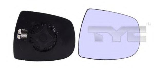 PMG2832G04 Стекло зеркала прав с подогр, выпукл RENAULT: TRAFIC (2001-) / OPEL: VIVARO(2001-06) / NISSAN PRIMASTAR (2003-)