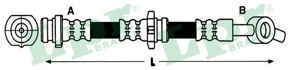 6T47928 Шланг тормозной NISSAN PRIMERA (P11) 96-02 передний левый