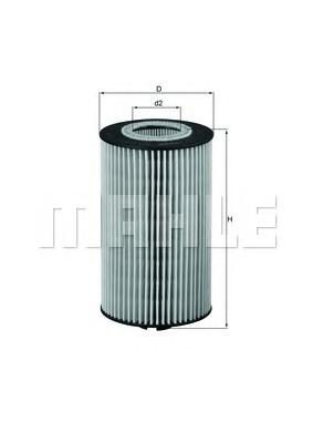 OX161D Фильтр масляный MB MB ATEGO/VARIO