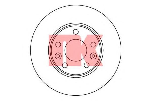 203970 Диск тормозной RENAULT FLUENCE 10-/LAGUNA 07-/MEGANE 08- передний вент.D=280мм.