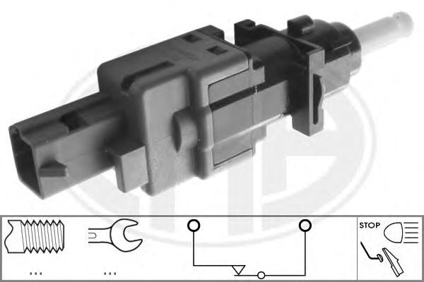 330520 Датчик заднего хода FIAT: MULTIPLA (186) 1.9 JTD (186AXE1A)/1.9 JTD 105 (186AXB1A)/1.9 JTD 110/1.9 JTD 115 99-, PANDA (16