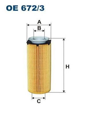 OE6723 Фильтр масляный BMW F01/10/E70/71 2.5D-4.0D