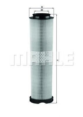 LX8166 Фильтр воздушный MB W211 220CDI