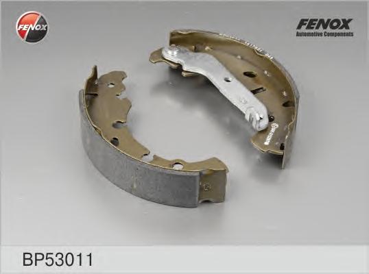 BP53011 Колодки торм.бар.FORD FIESTA/FUSION 1.25-1.8D 00-
