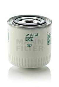 W92021 Фильтр масляный LADA 01-07/NIVA 1200-1700/FIAT 124 1.4-1.8 75